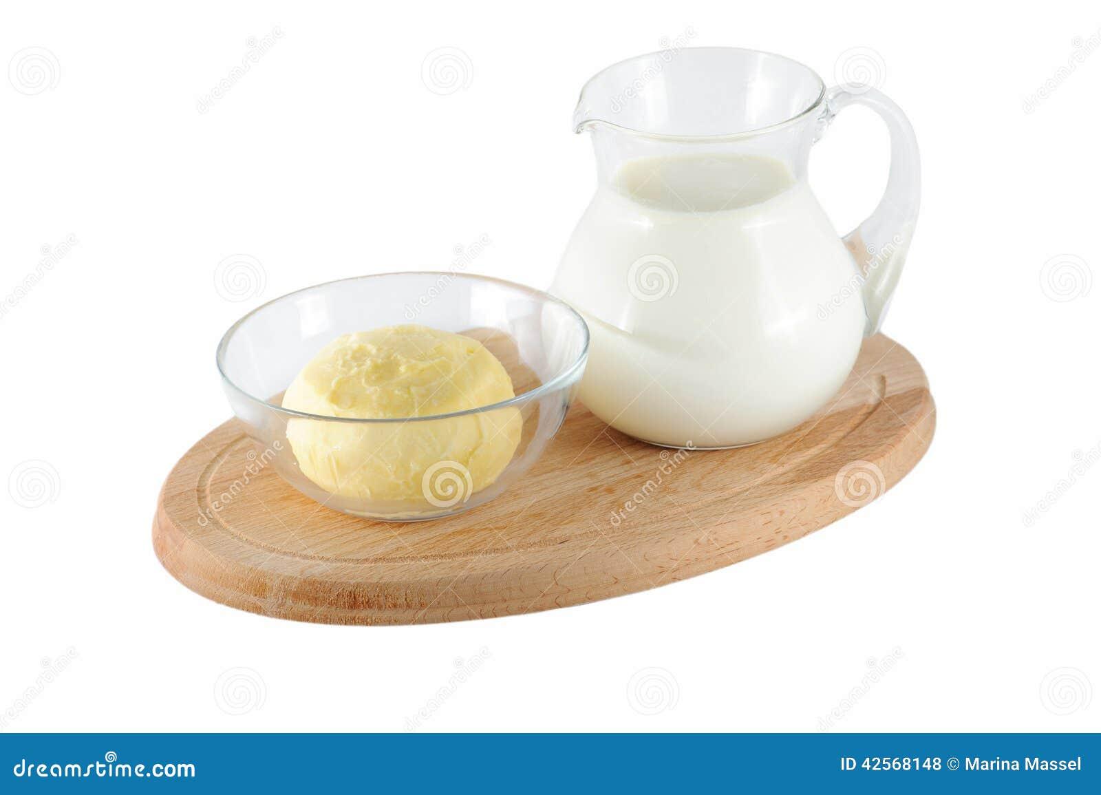 Latte E Burro.Latte E Burro Fotografia Stock Immagine Di Background