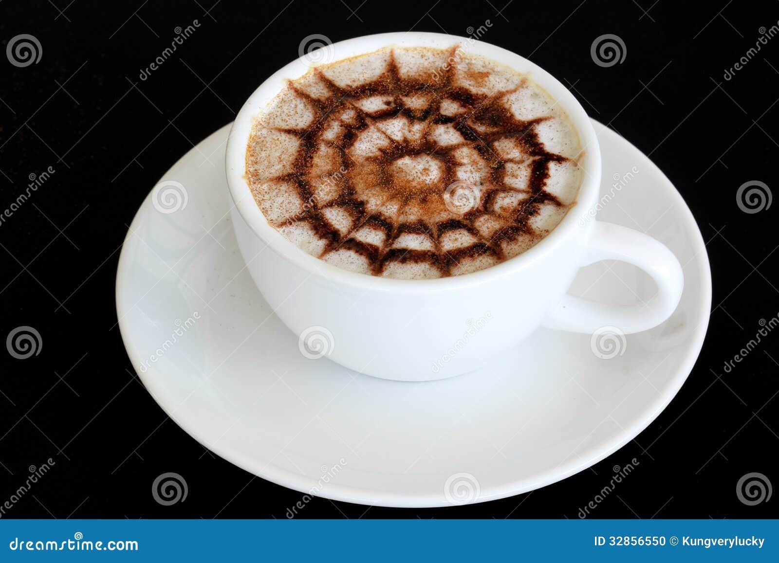 Latte-Kunst/Kaffee