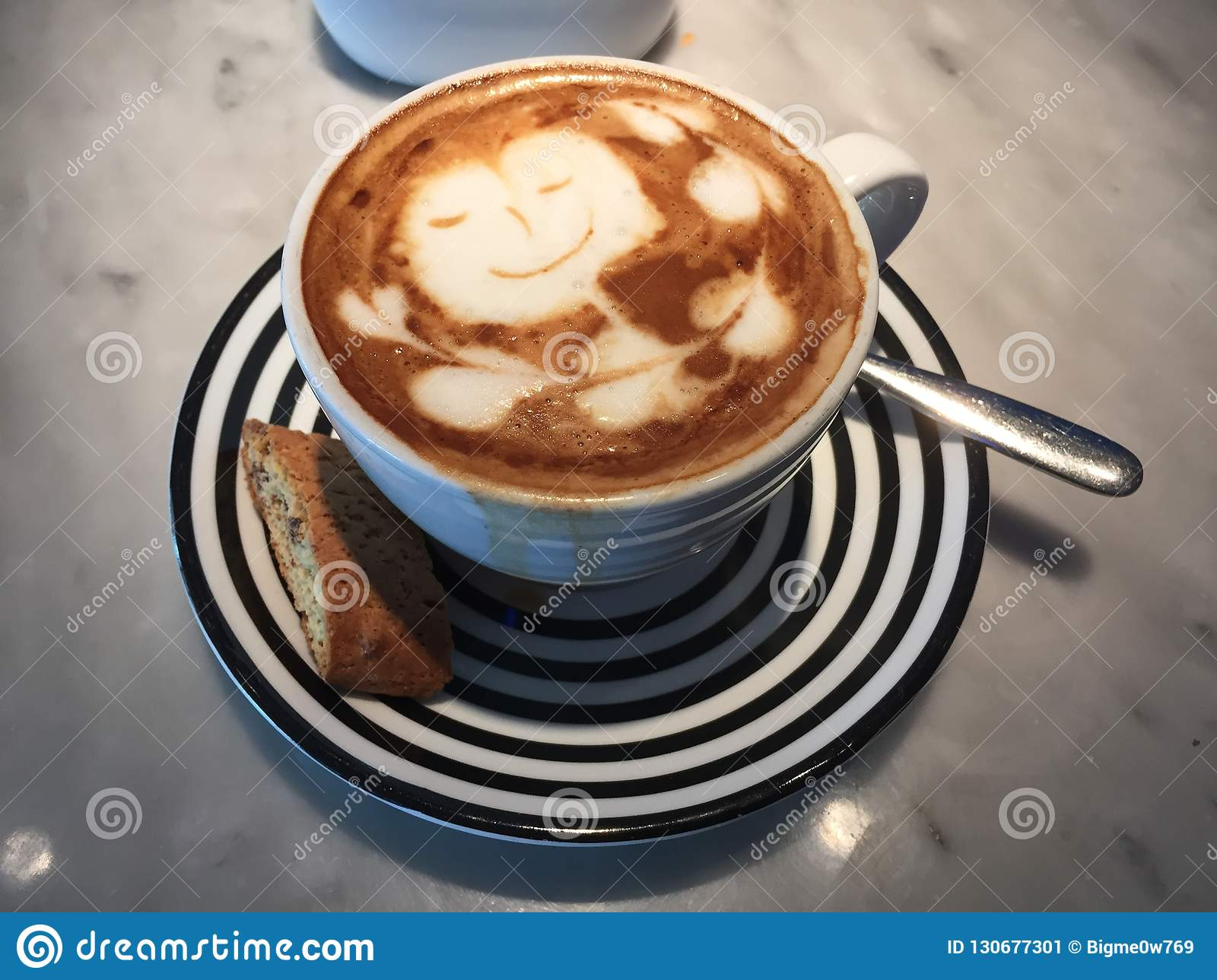Latte Love For Coffee Lovers Stock Image Image Of