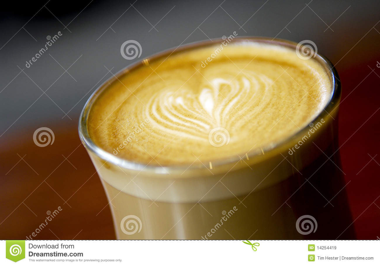 Latte Love Heart Coffee