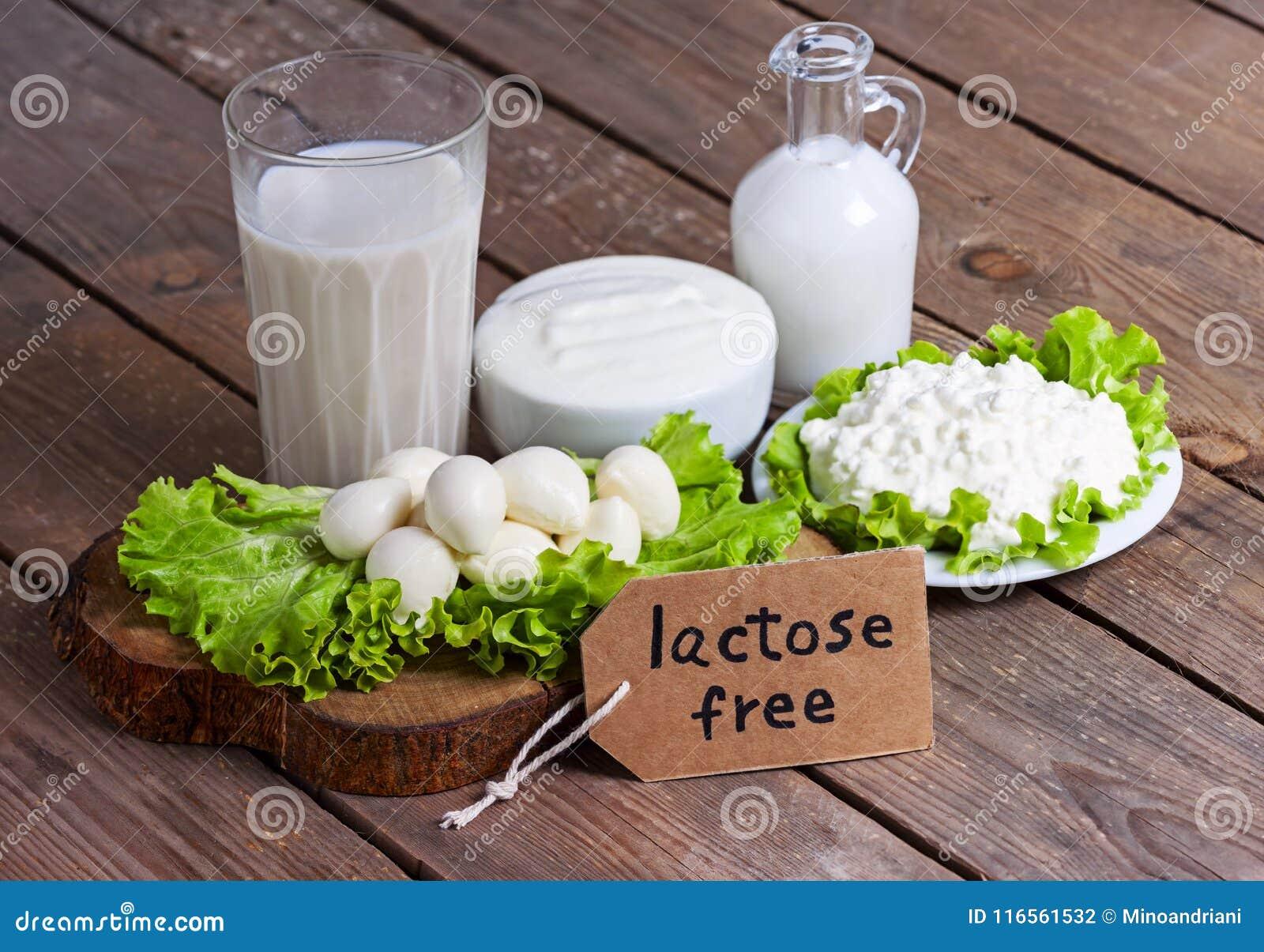 Latte, yogurt e formaggio con fondo