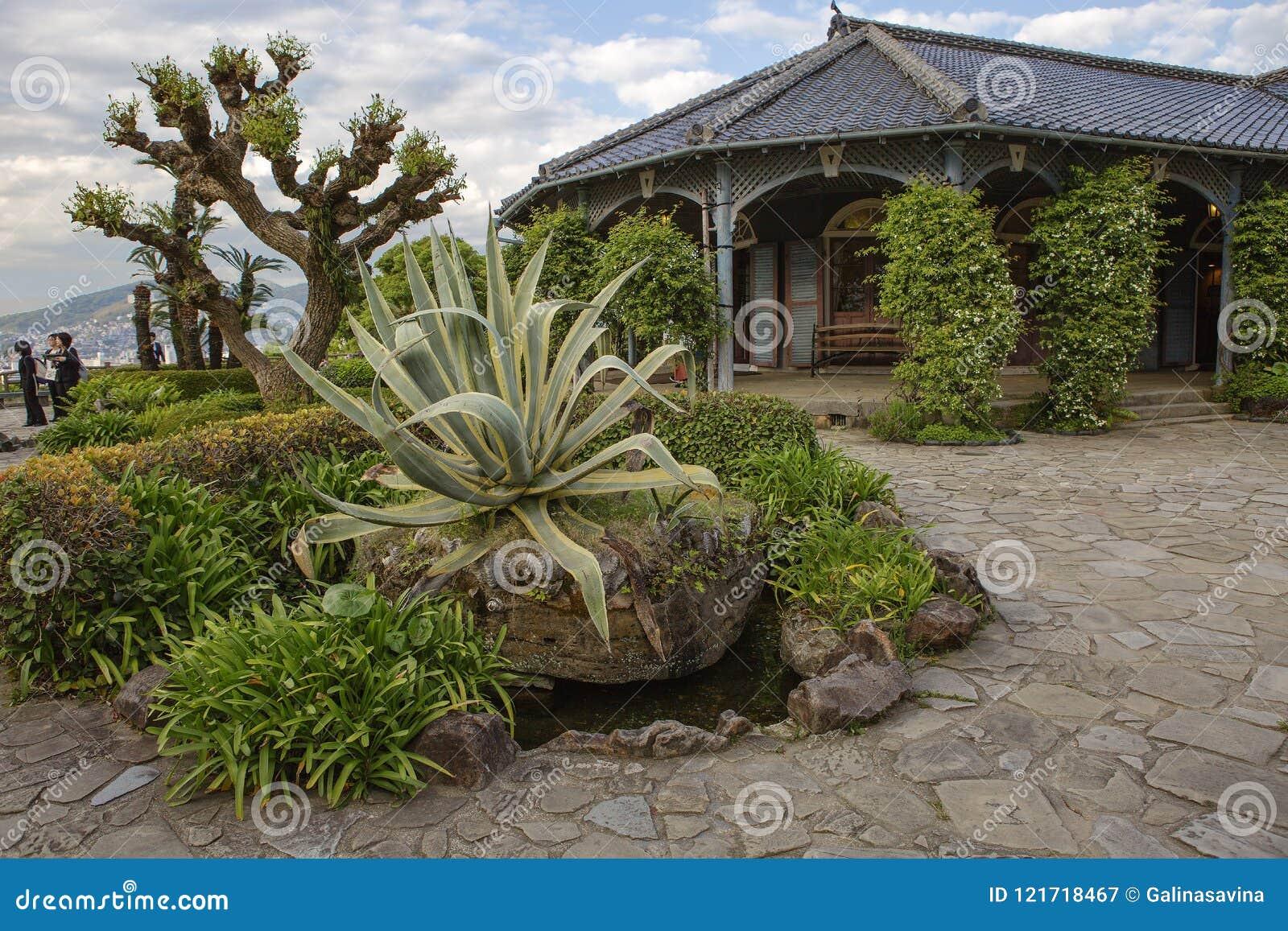 Nagasaki, Japan, Glover Garden. Glover House. Editorial Photography ...