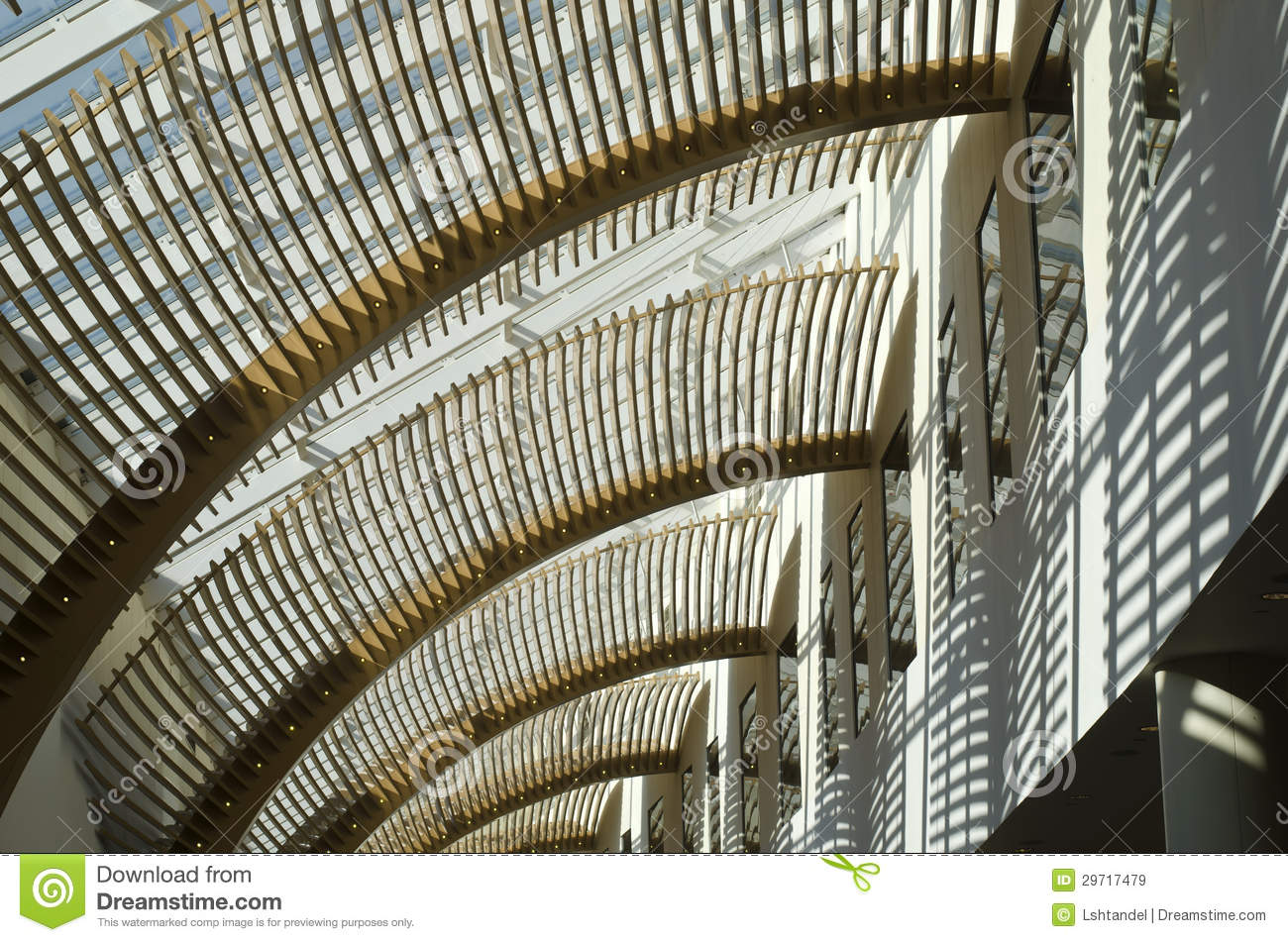 Transparent Roof And Louvers Stock Image Image 29717479