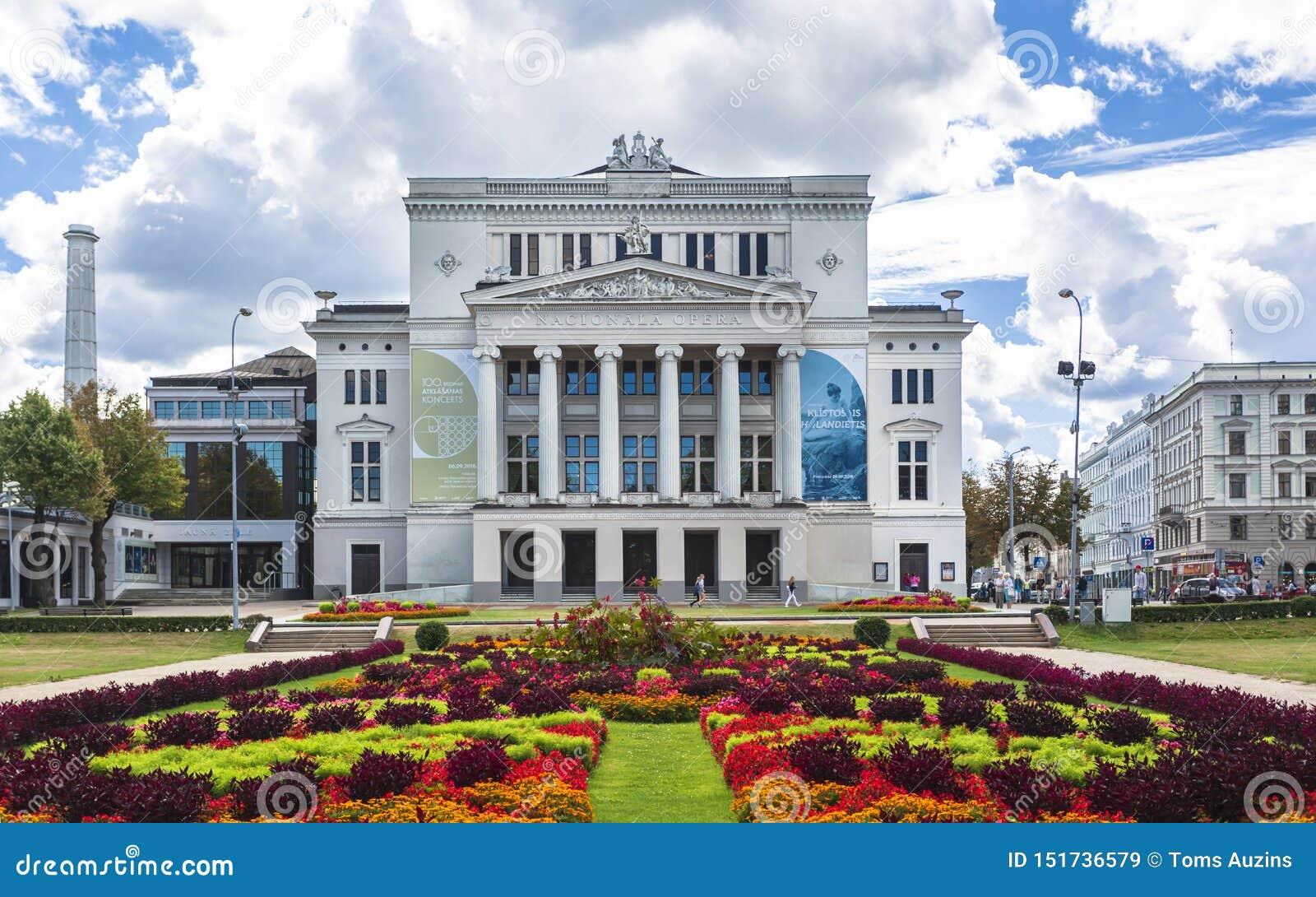 Historic buildings in Old Riga.
