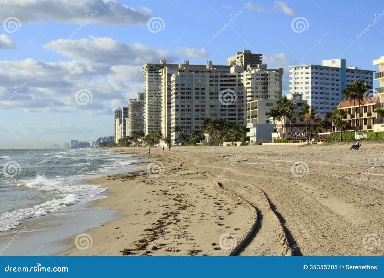 Lauderdale par la vue de mer