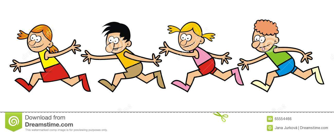 Cartoon Running Shoes Clipart