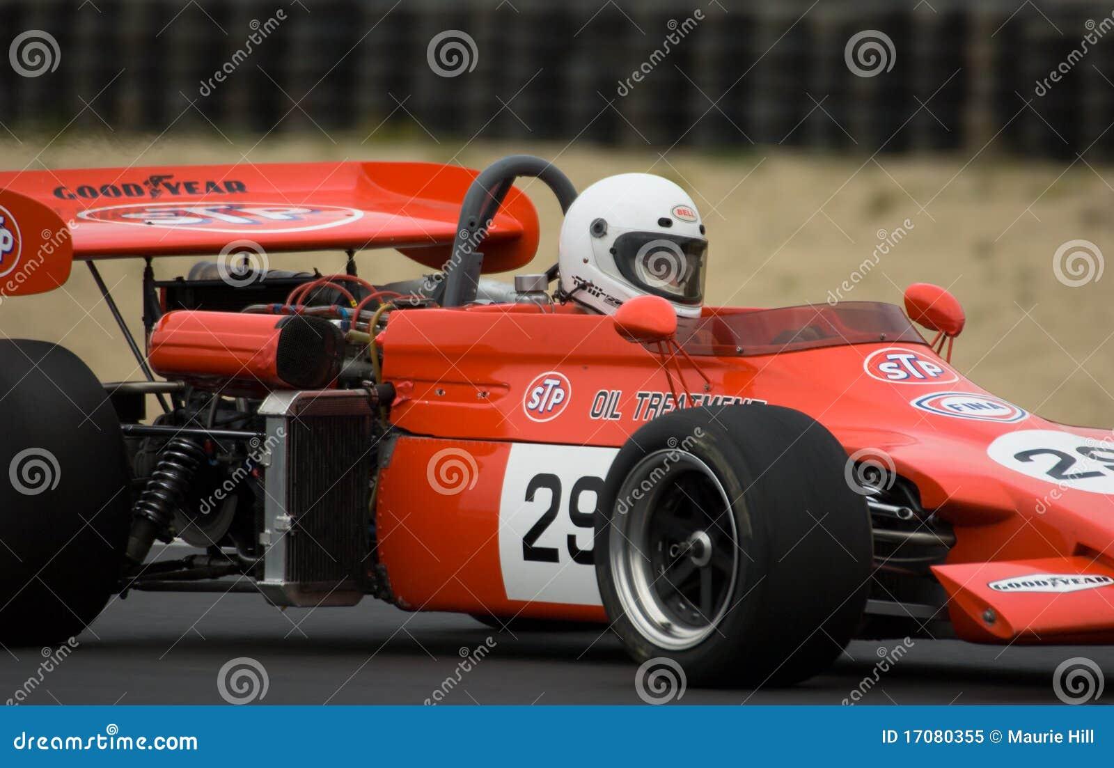 Laufendes Auto der Formel 2