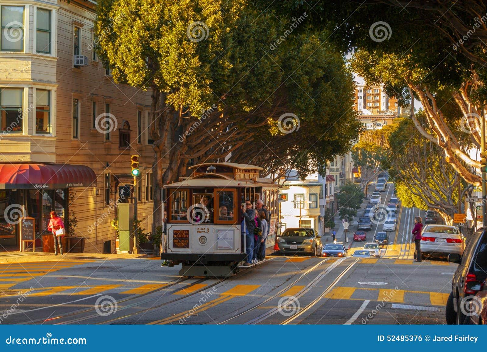 Laufkatzen-Auto in San Francisco