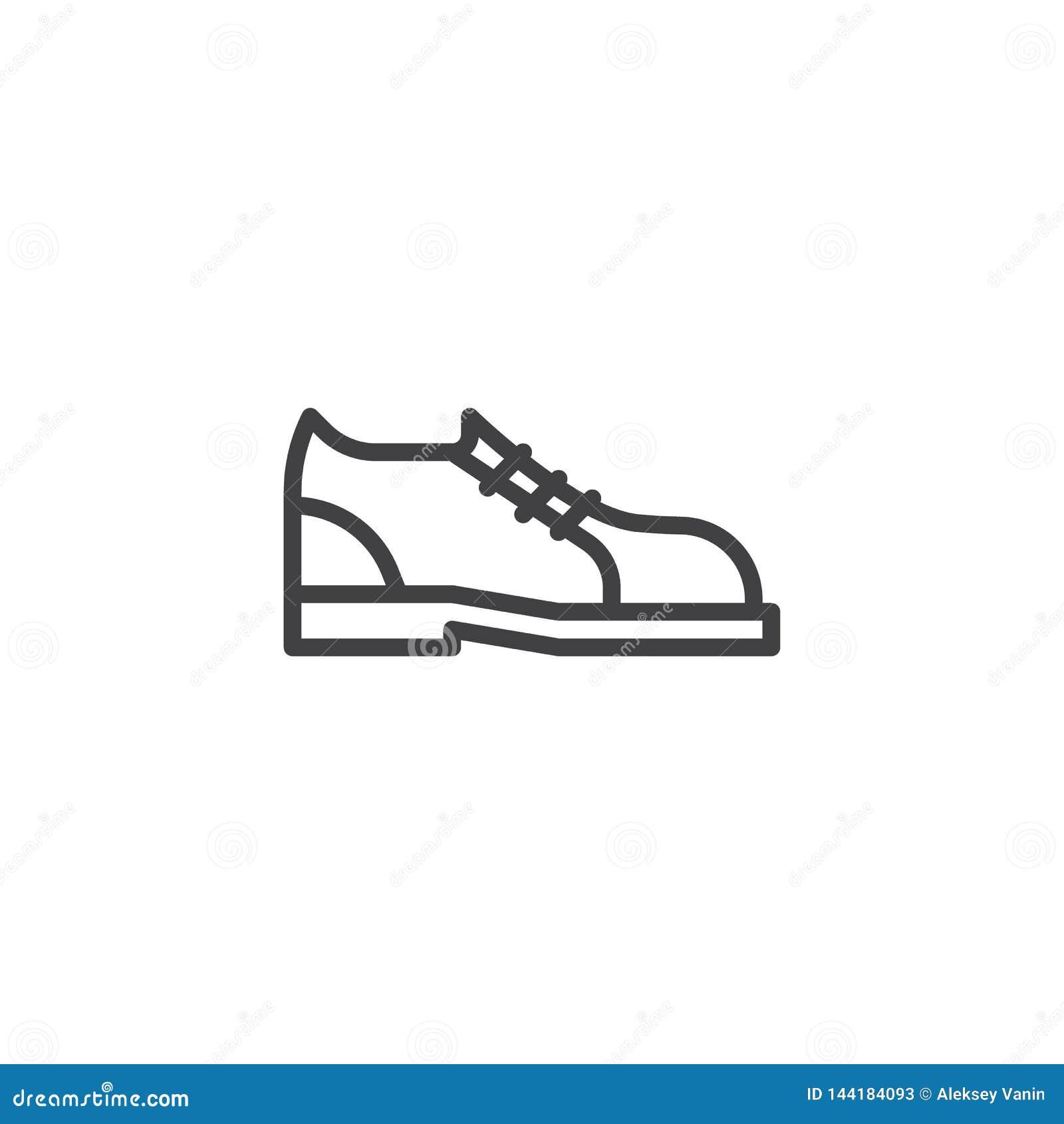 Laufschuhe zeichnen Ikone