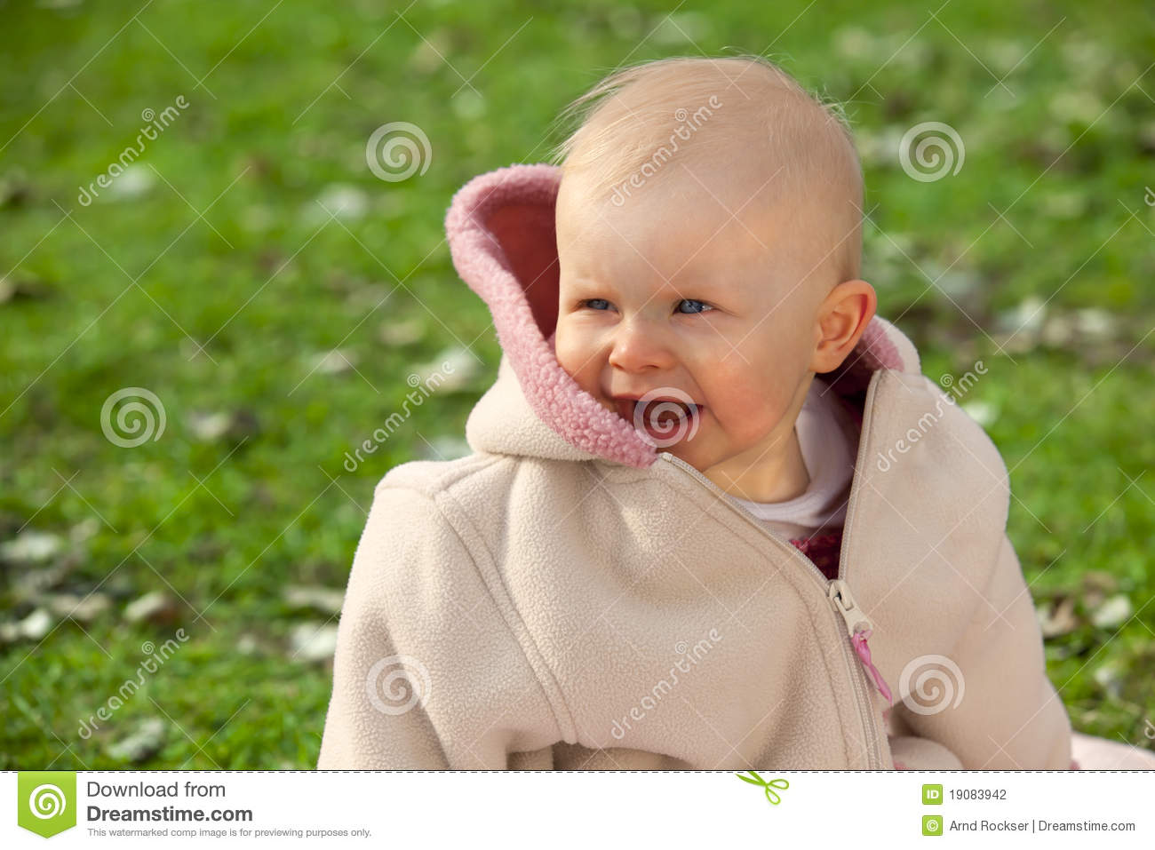 Laughing Baby Girl Stock Photography - Image: 19083942