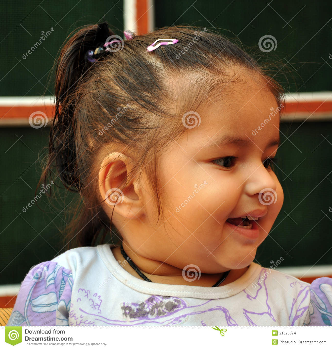 Laughing Baby Girl Stock Images - Image: 21823074