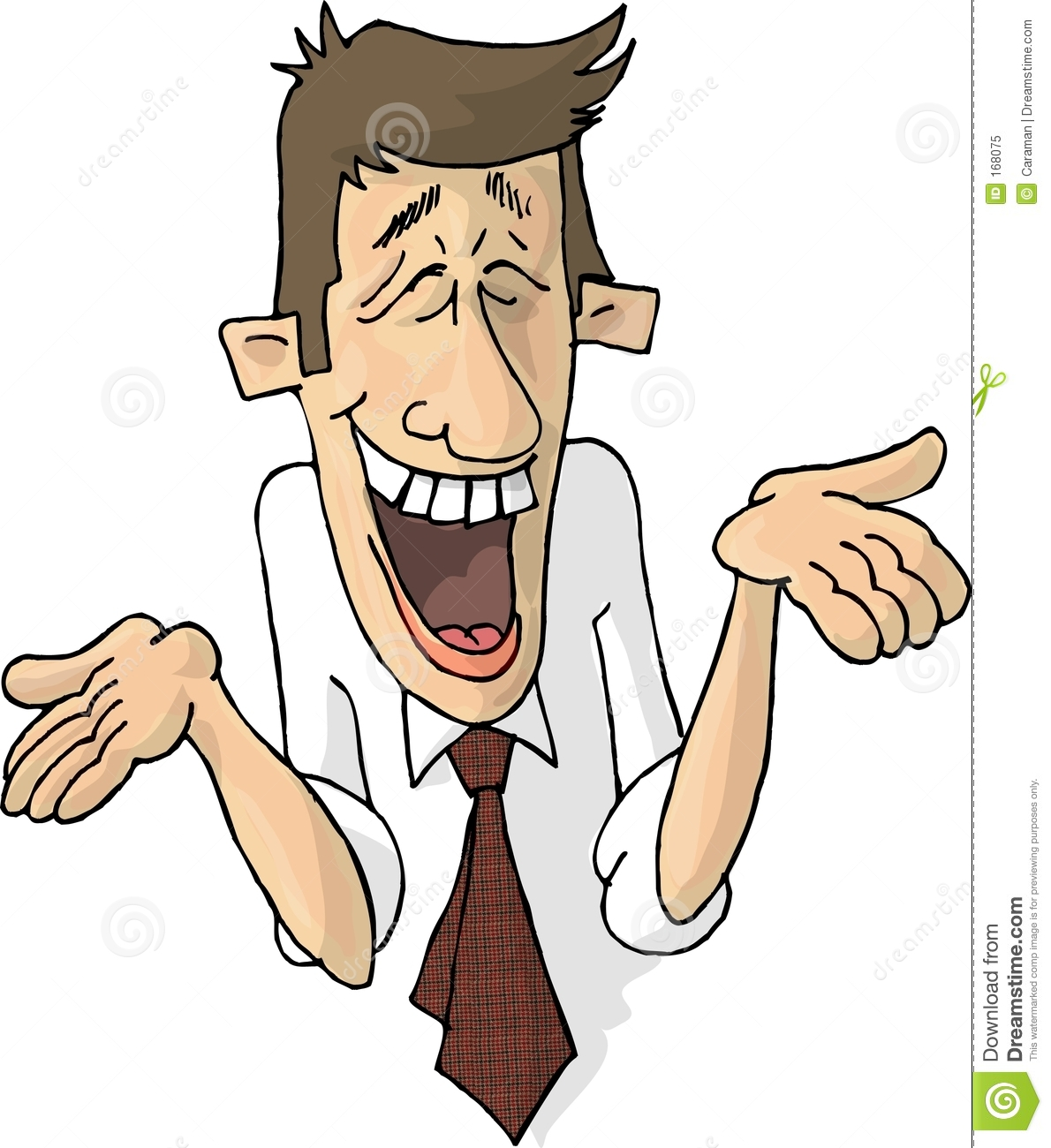 man laughing clipart - photo #18