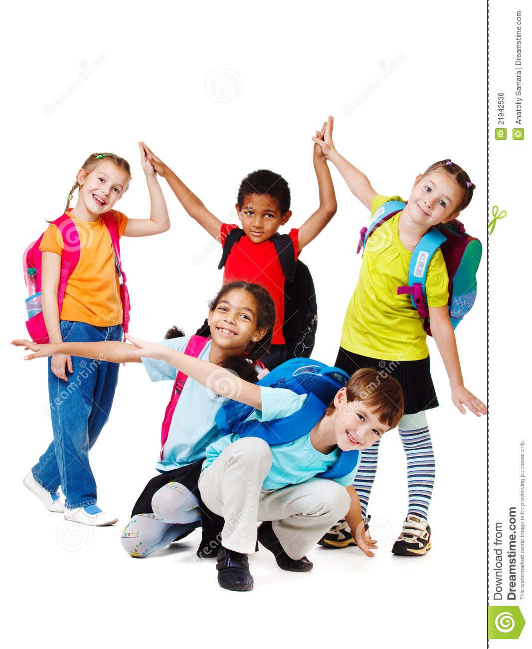 laughing kids stock photo image of kids bright giggle 21942538