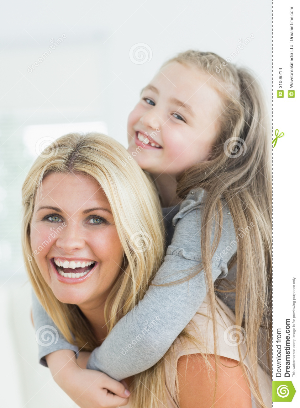 Mom And Daughter Bedroom Ideas: Laughing Mother And Daughter Stock Images