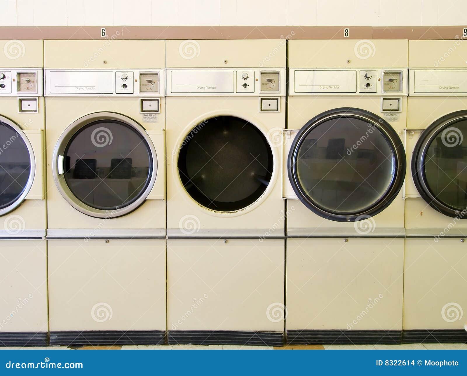 Laundromat Drogers