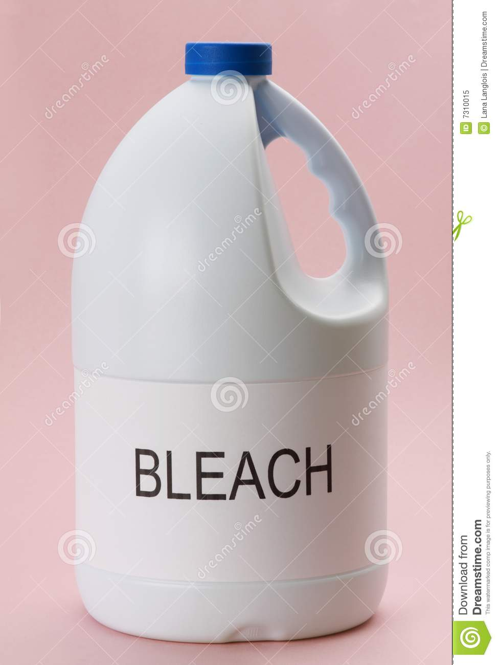 Laundry Bleach Stock Image Image Of Liquid Bottle