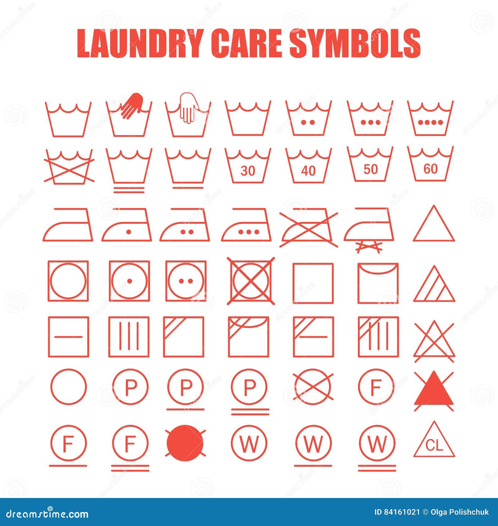 Laundry care symbols set stock illustration illustration of element laundry care symbols set element fabric buycottarizona Gallery