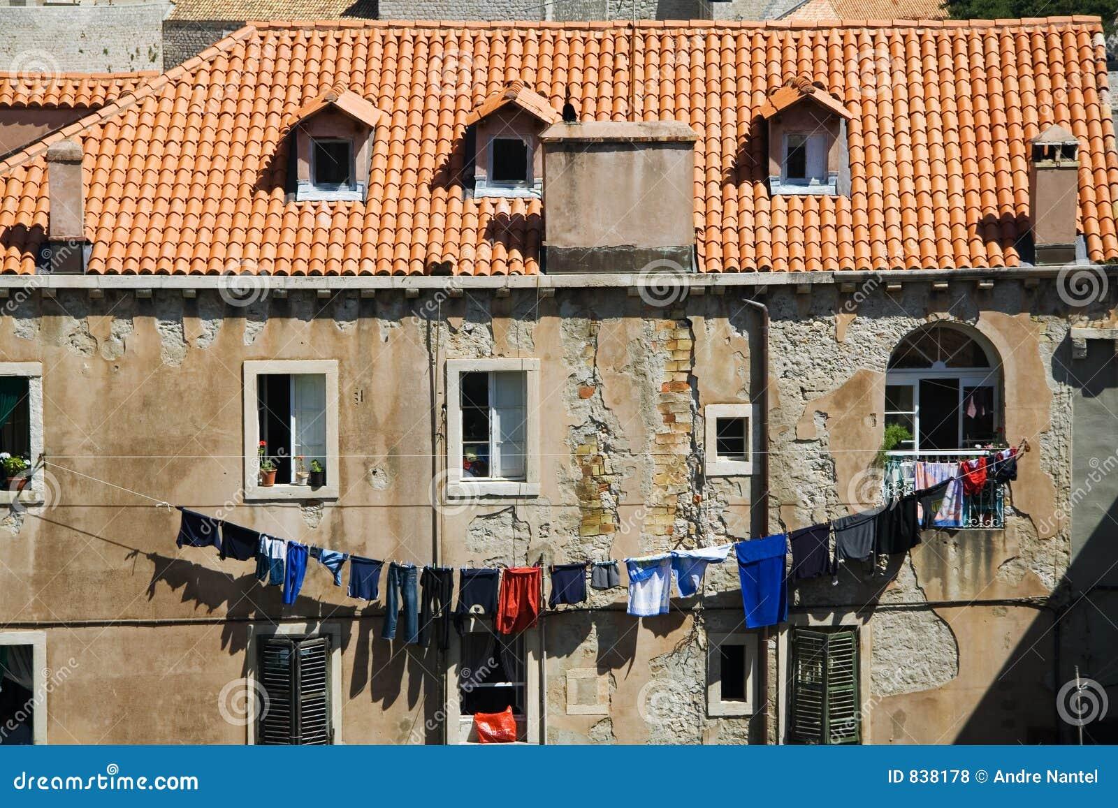 Laundry Day in Dubrovnik