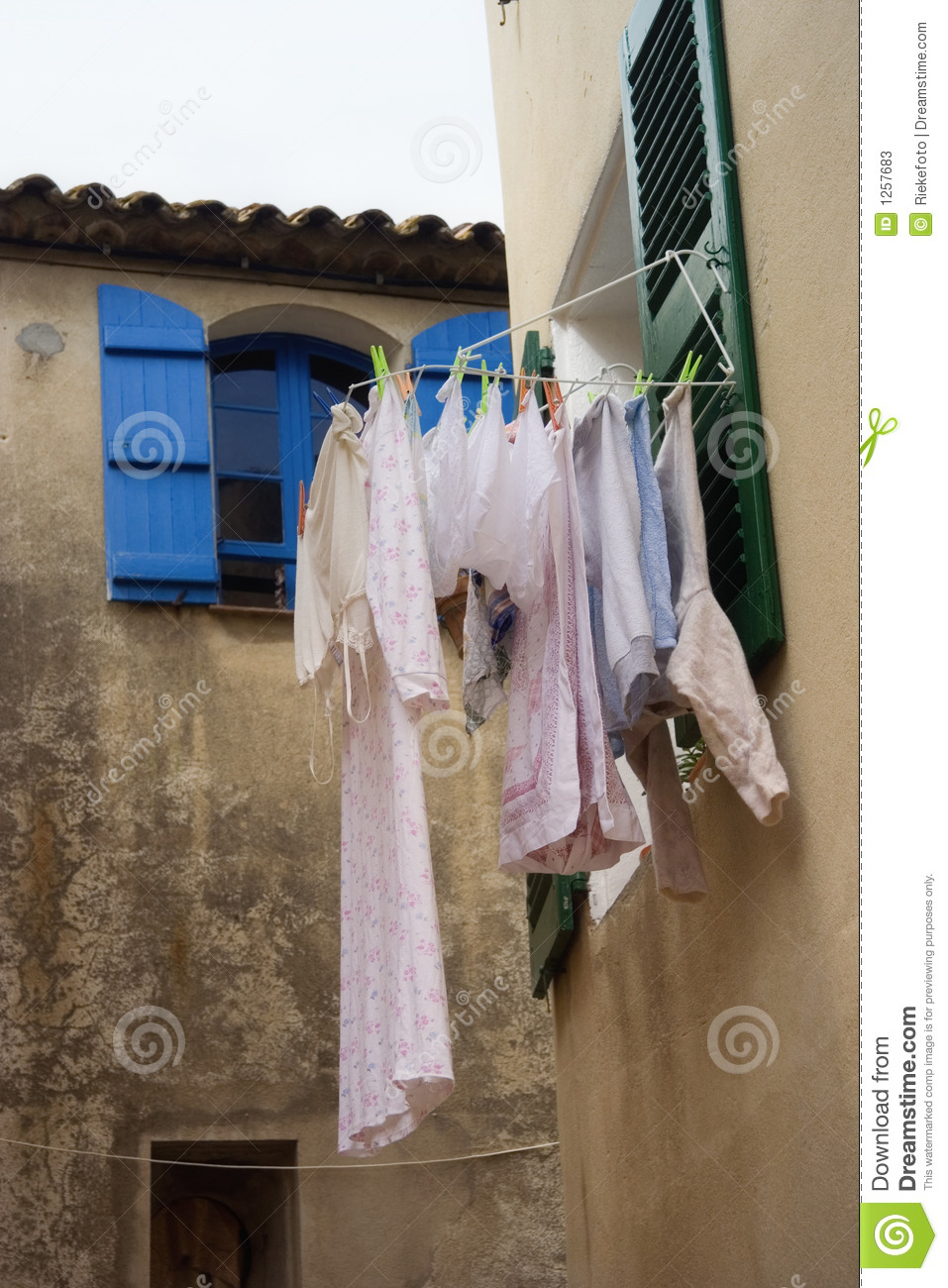 Laundry outdoors