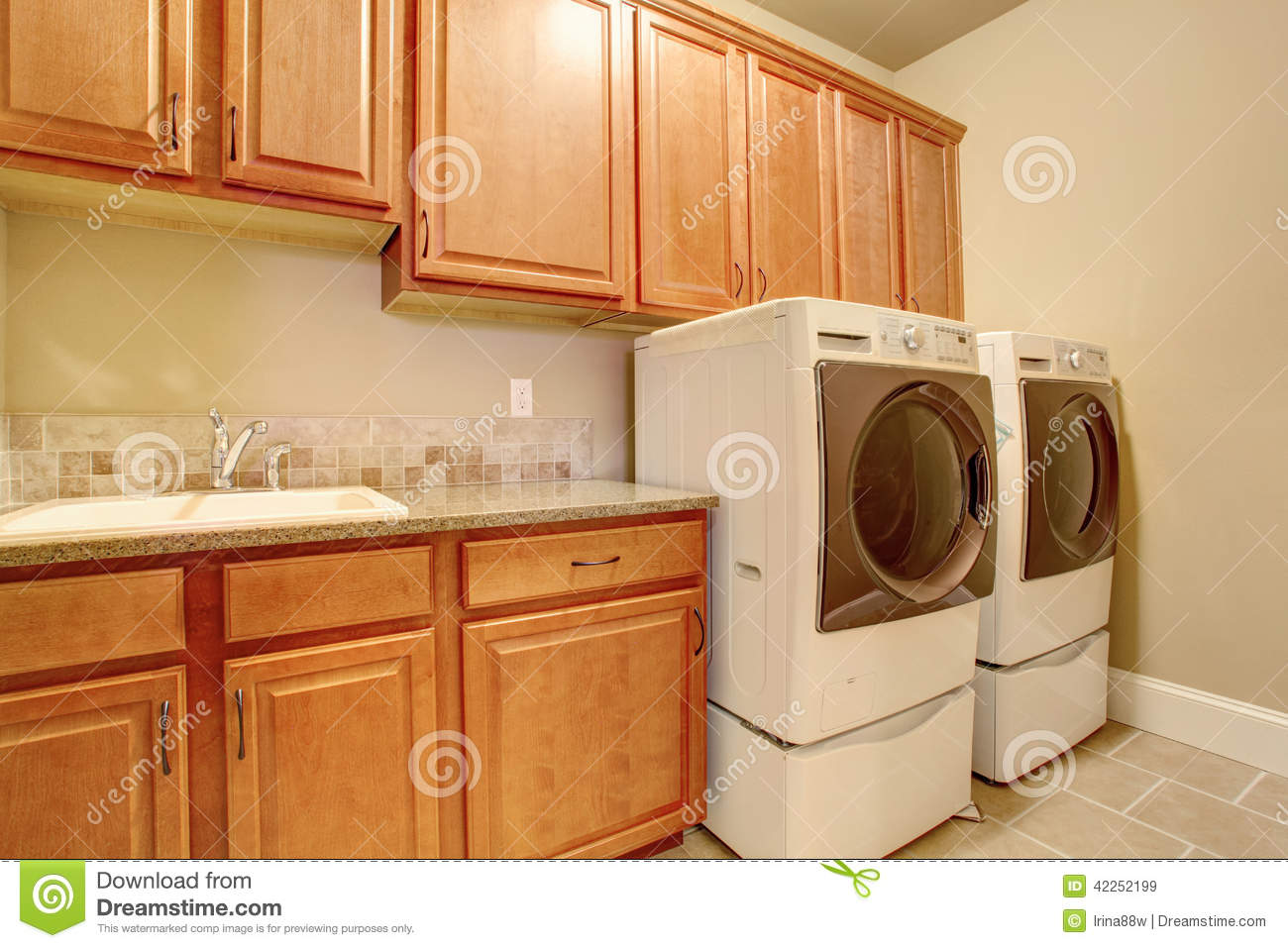 laundry room storage cabinets laundry room interior stock image image of dryer 22537