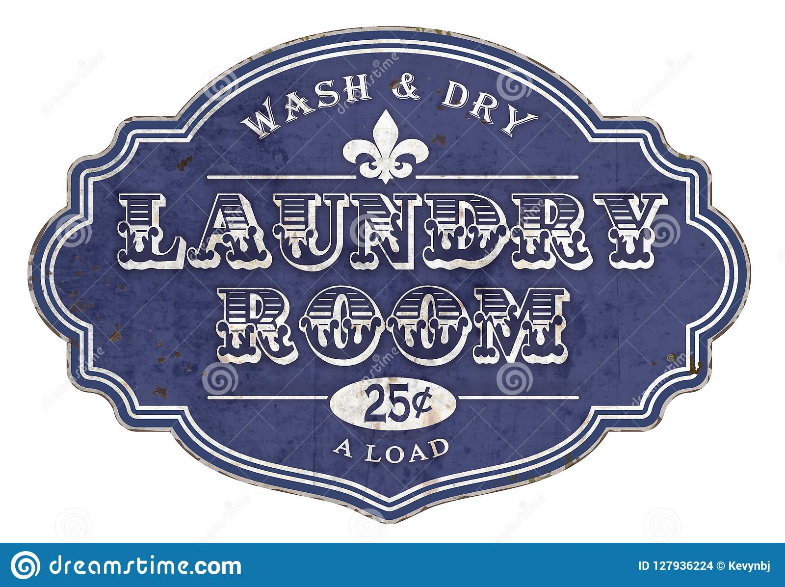 Laundry Room Sign Plaque Vintage