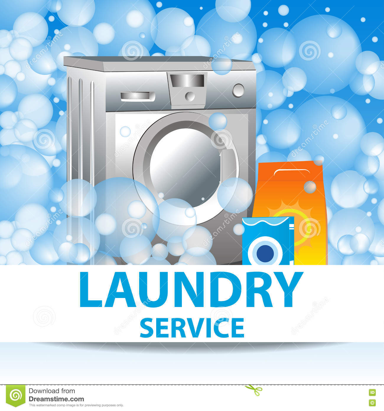 laundry services flyer template stock photography image  laundry service poster template for house cleaning services stock image