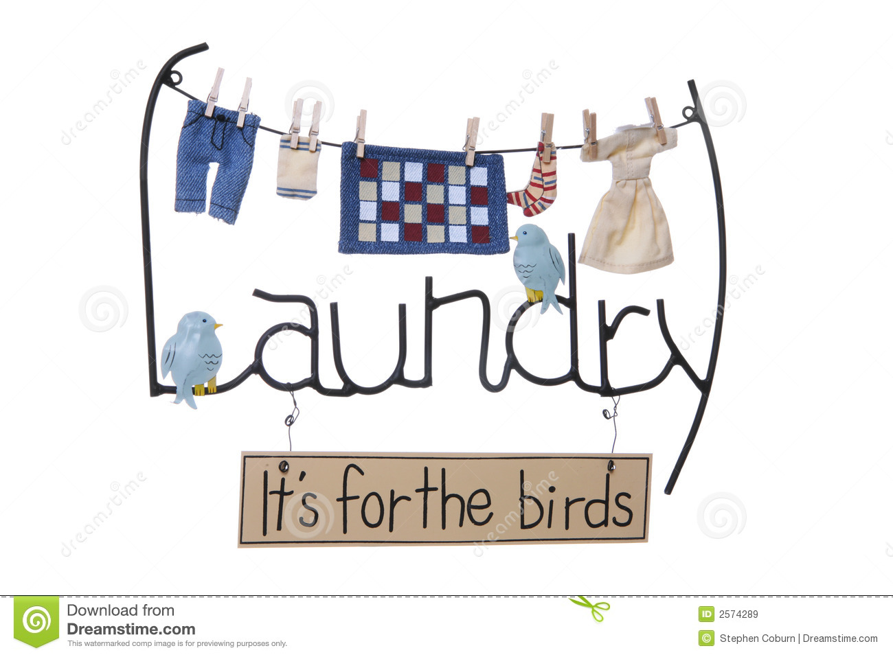 Laundry Sign stock image. Image of isolated, dryer ...