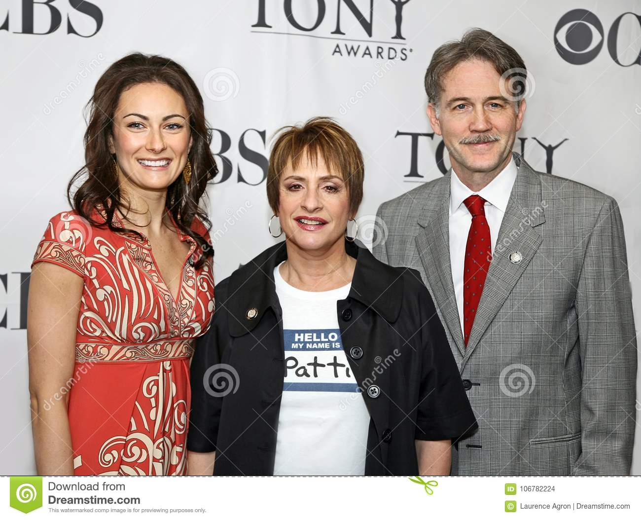 Laura Benanti, Patti LuPone, and Boyd Gaines