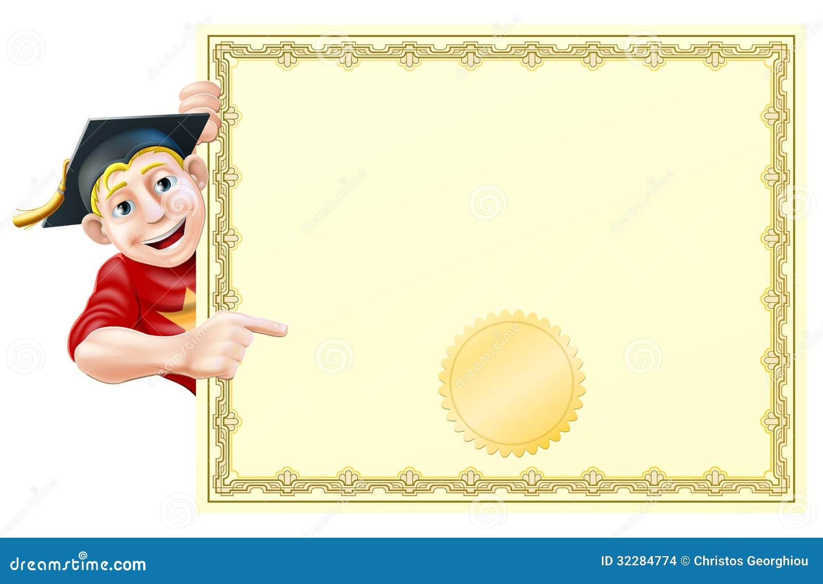 Laureato e certificato