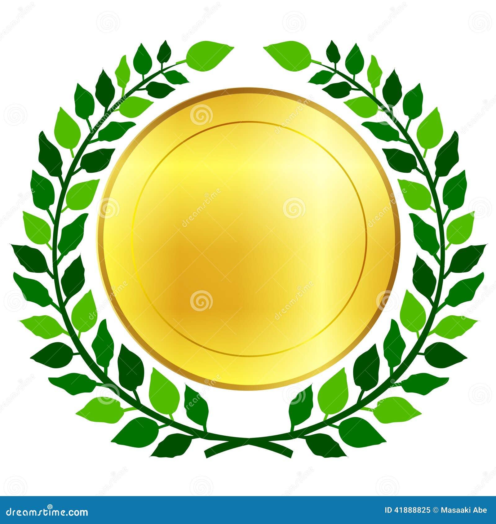 Lujo Medalla En El Marco Imagen - Ideas Personalizadas de Marco de ...