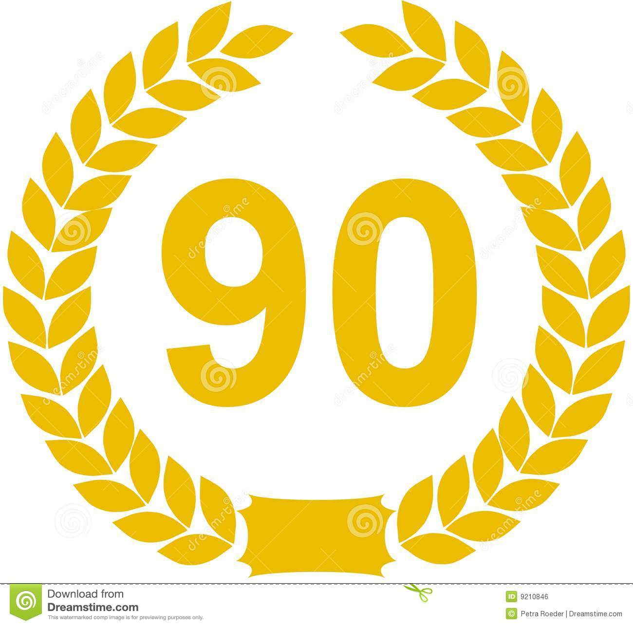 Laurel Wreath 90 Years