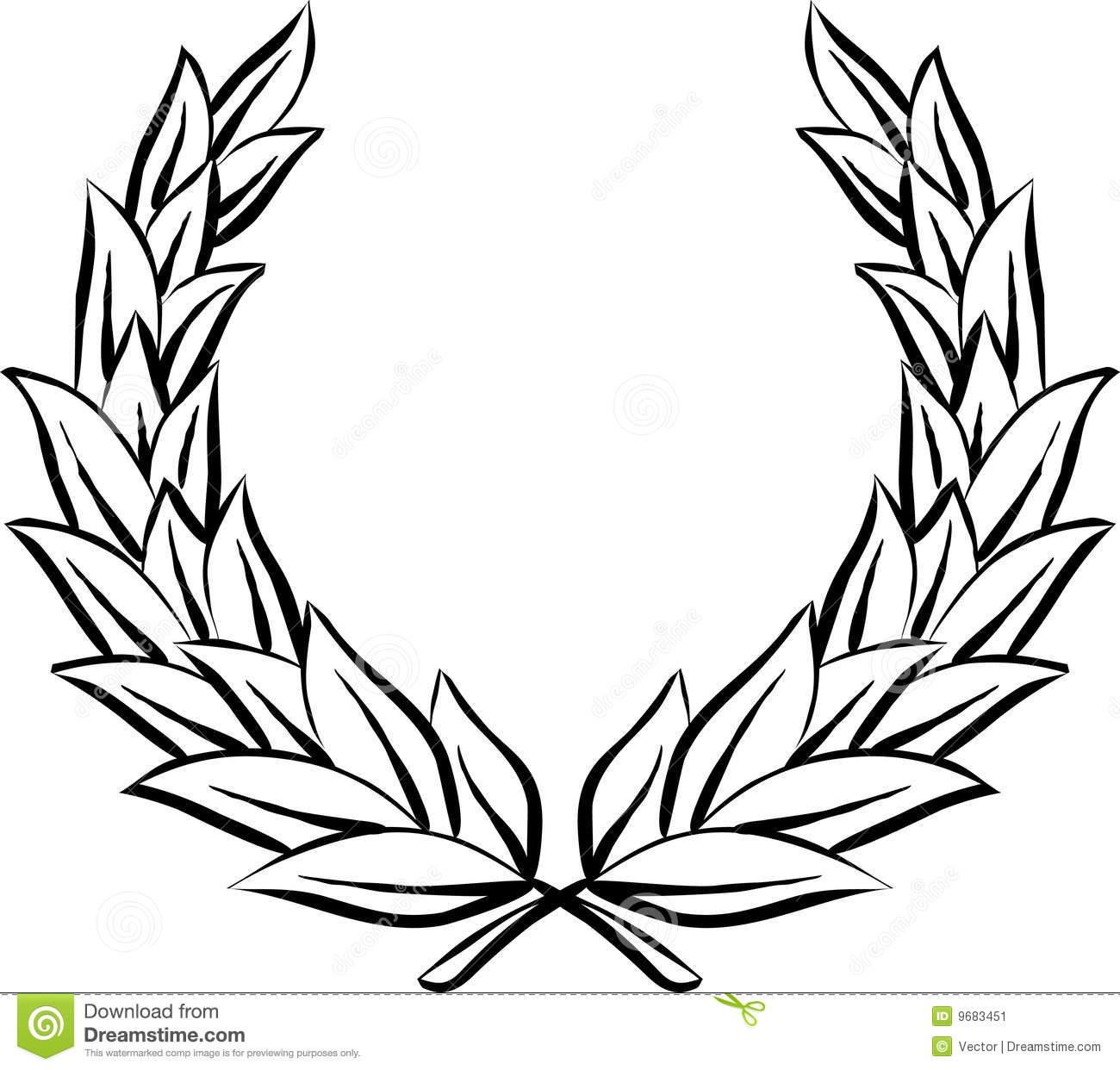 Laurel wreath (Vector)