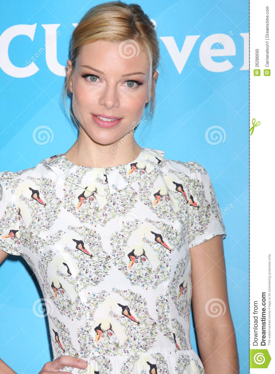 LOS ANGELES - JUL 24: Lauren German arrives at the NBC TCA Summer 2012 ...
