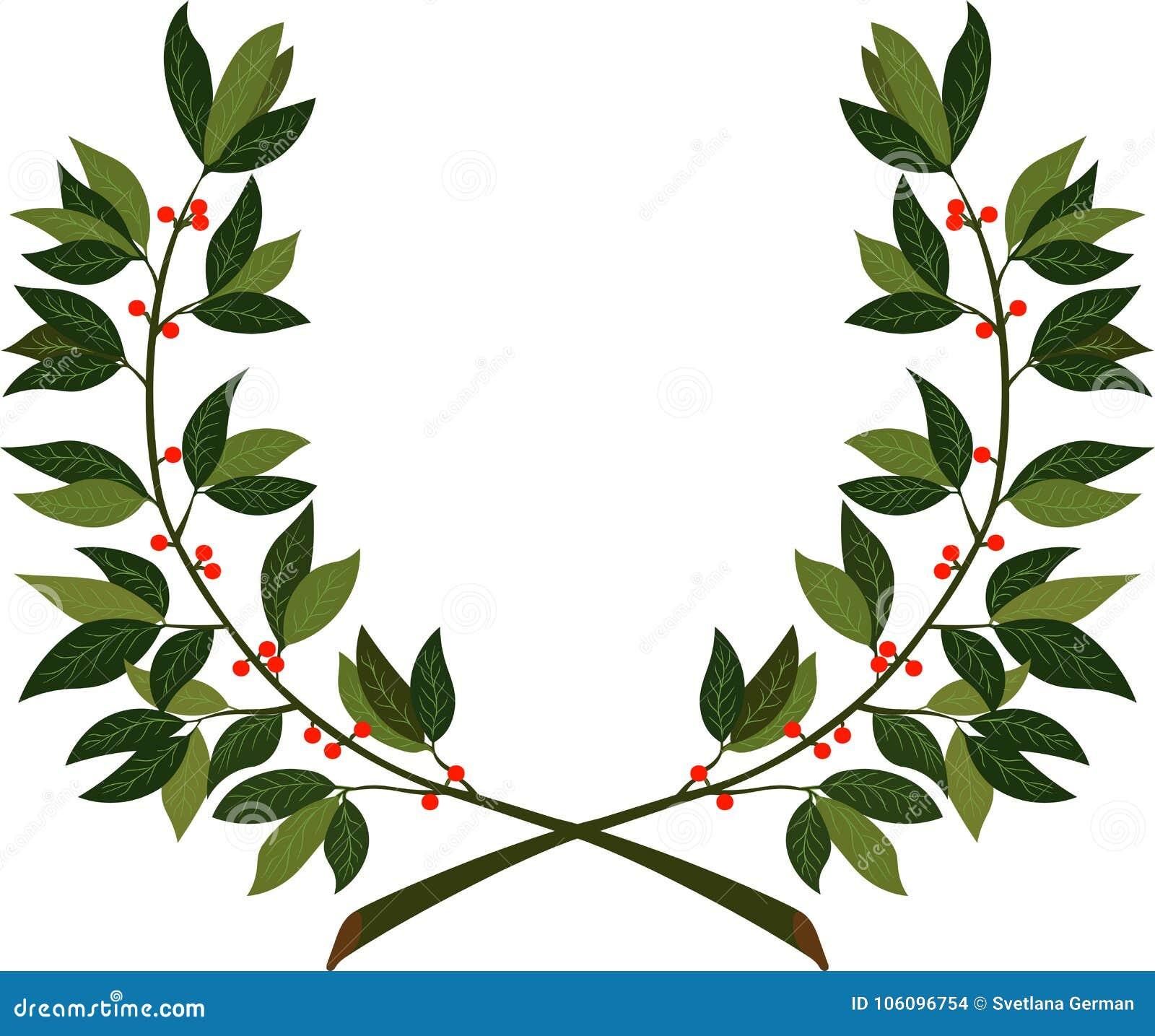 Laurowy wianek - symbol zwycięstwo i osiągnięcie
