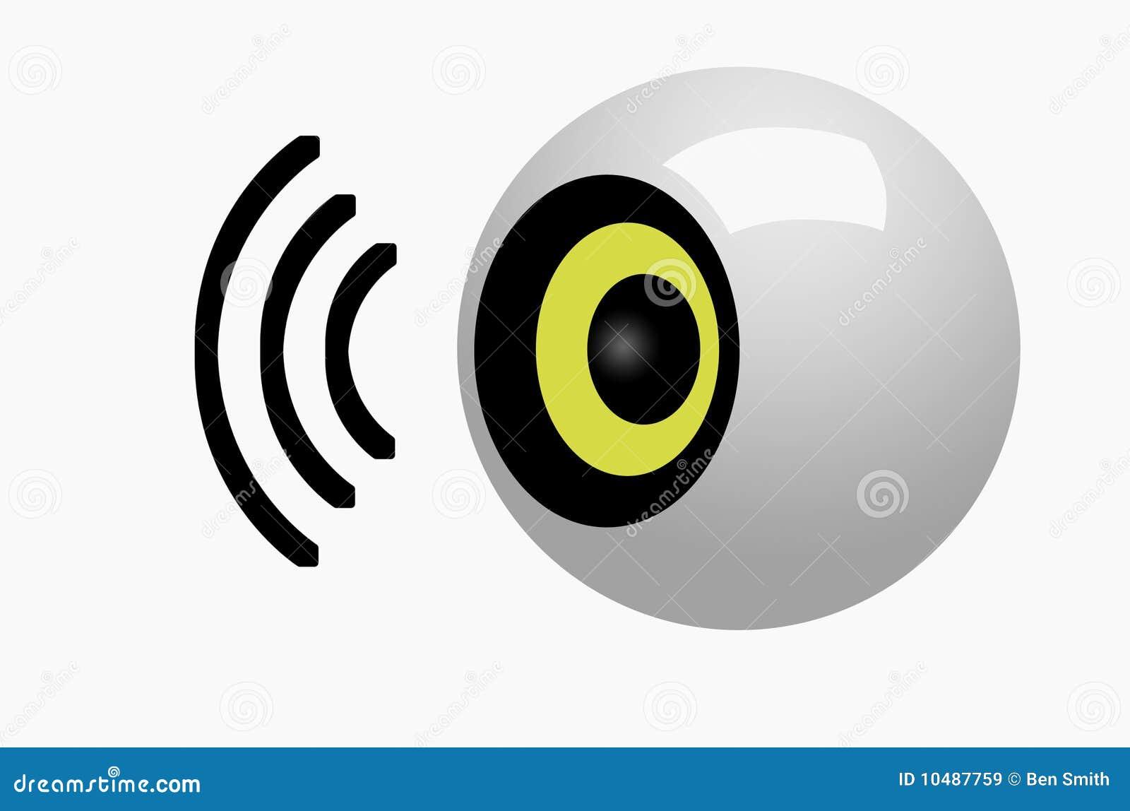 Lautsprecher-Symbol stock abbildung. Illustration von musik - 10487759