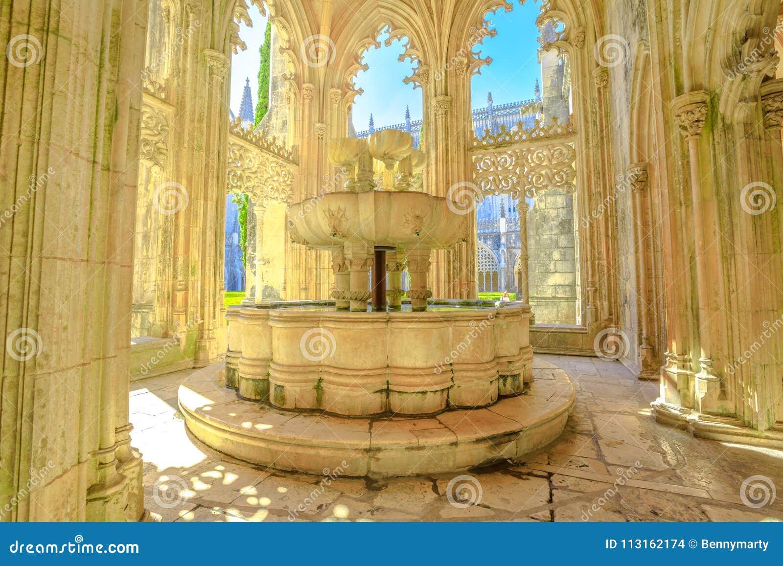 Lavabo al monastero di Batalha