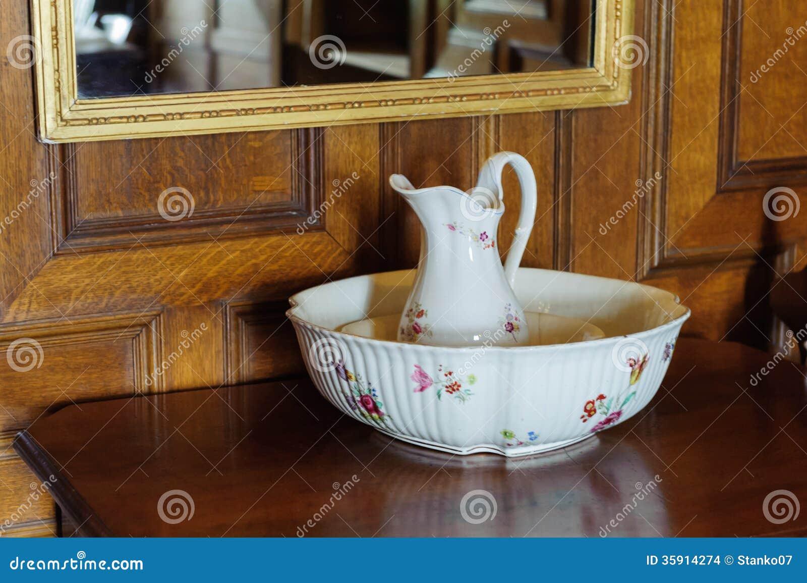 Lavabo con el jarro