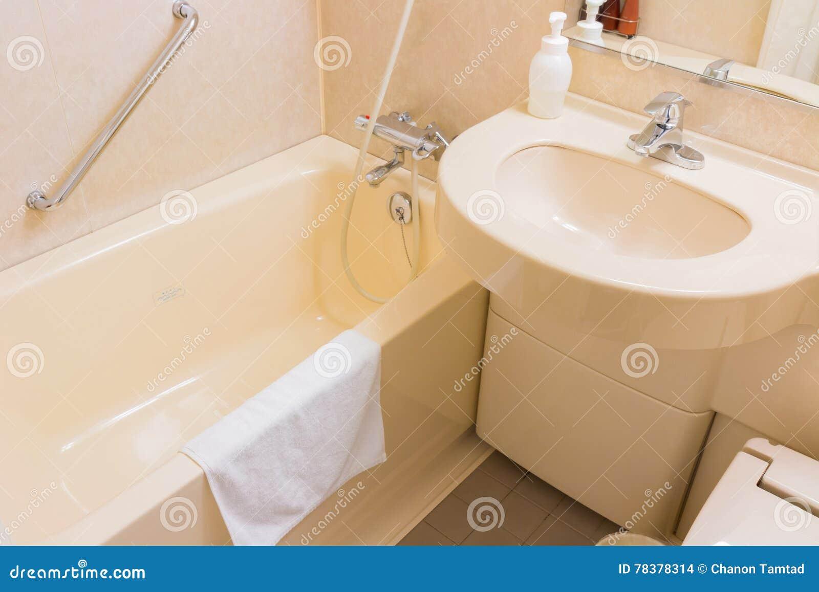 Salle De Bain Saumon lavabo et baignoire de luxe dans une salle de bains, un