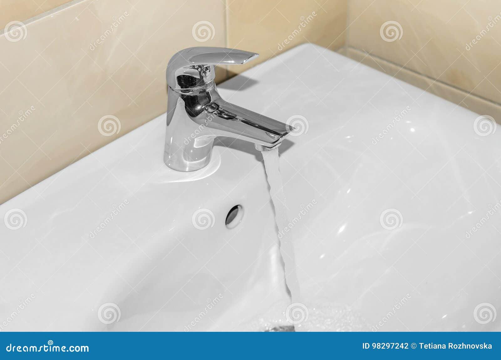 Lavabo Manos.Lavabo Para Las Manos Primer Foto De Archivo Imagen De