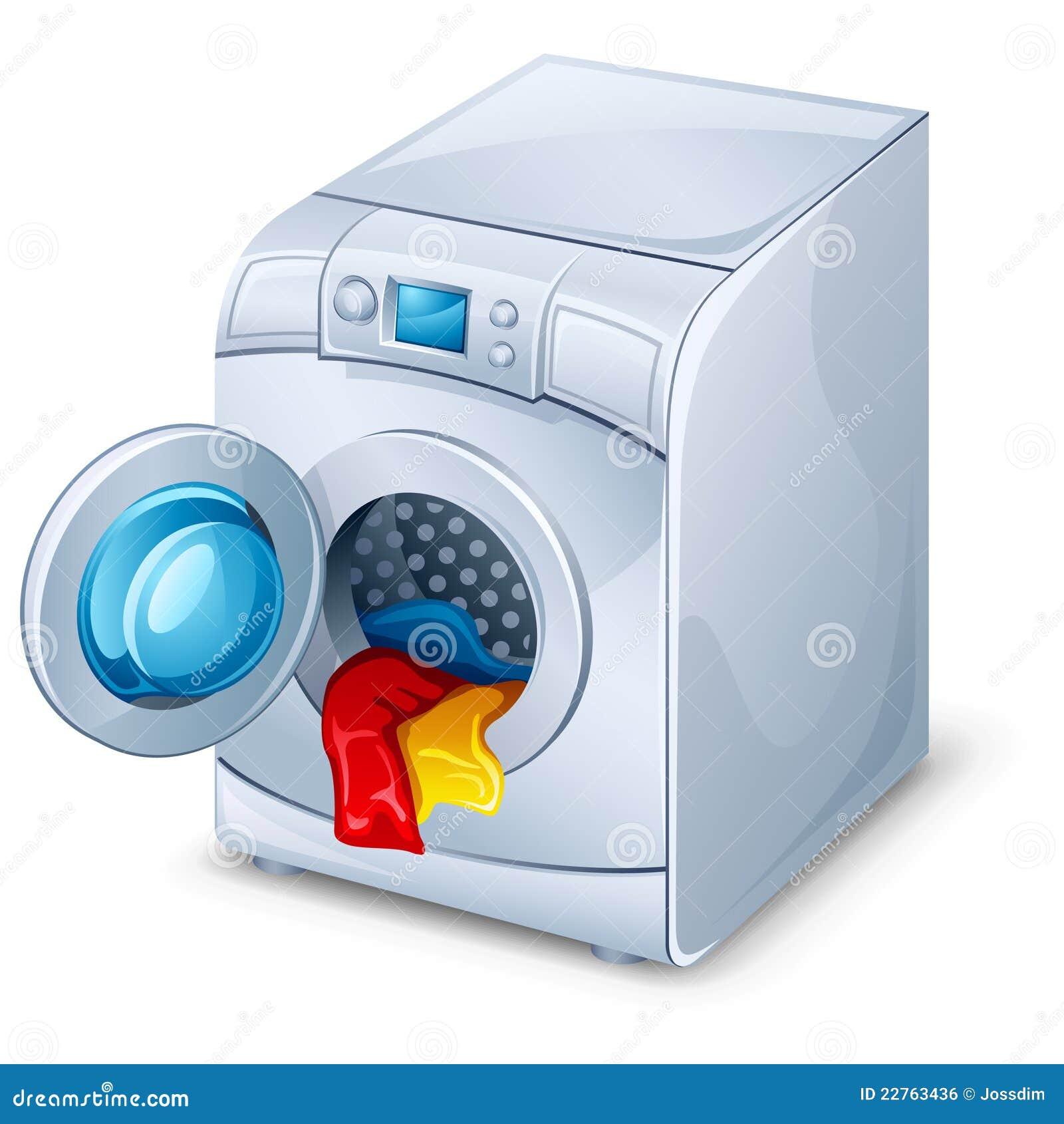 Lavadora ilustraci n del vector ilustraci n de lavado - Fotos de lavadoras ...