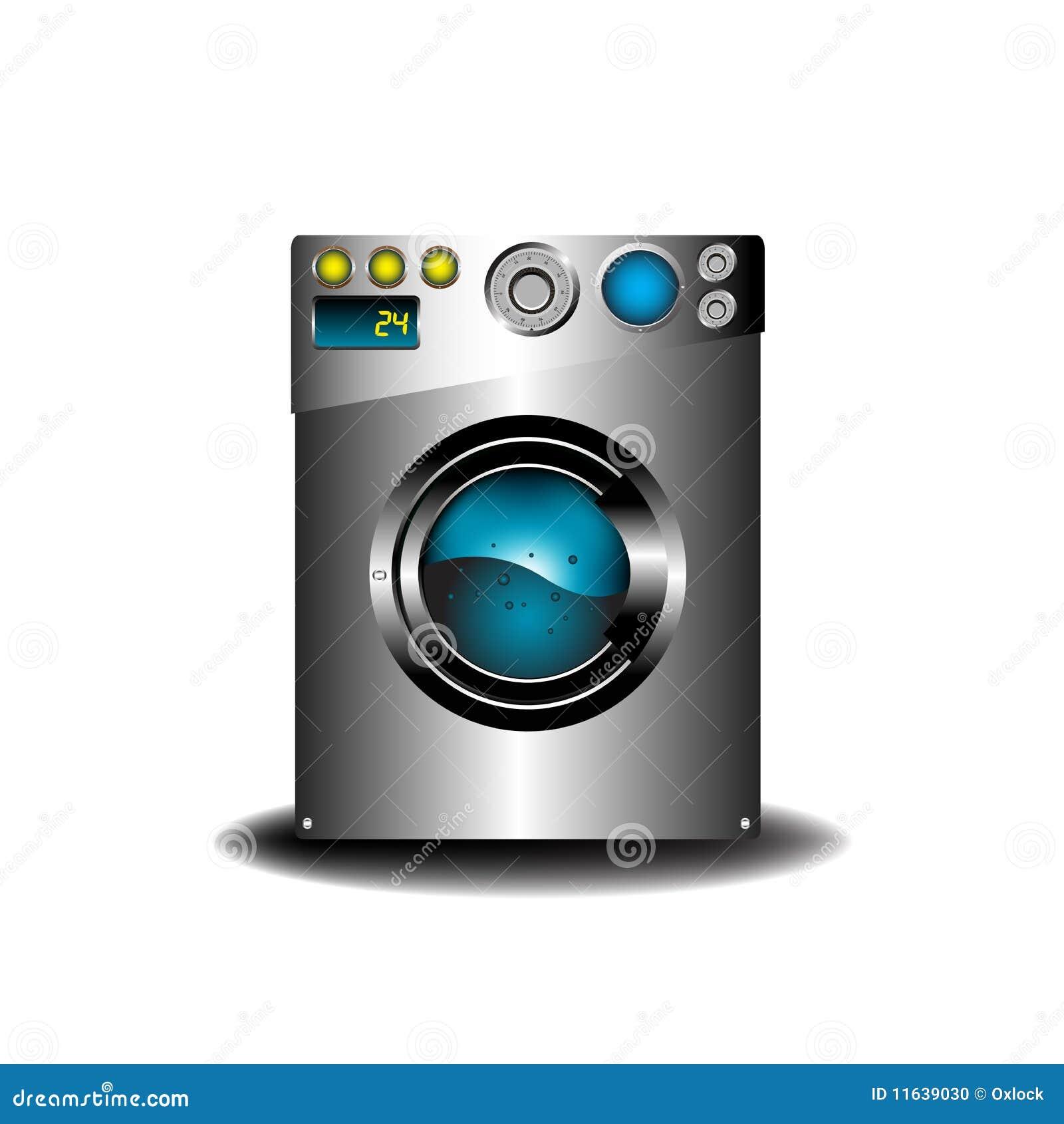 lavadora moderna foto de archivo imagen 11639030. Black Bedroom Furniture Sets. Home Design Ideas