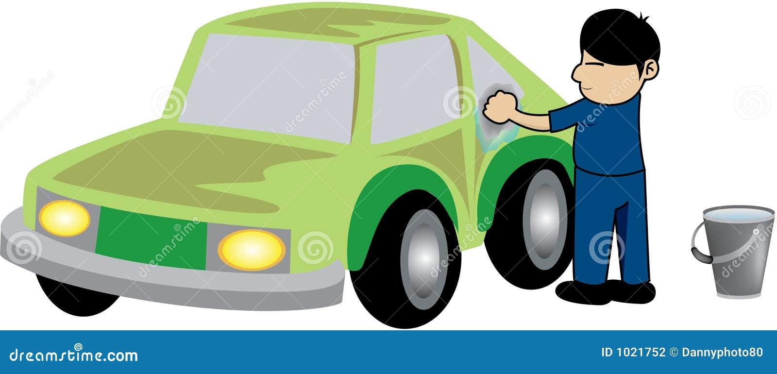 lavage de voiture illustration stock illustration du home 1021752. Black Bedroom Furniture Sets. Home Design Ideas