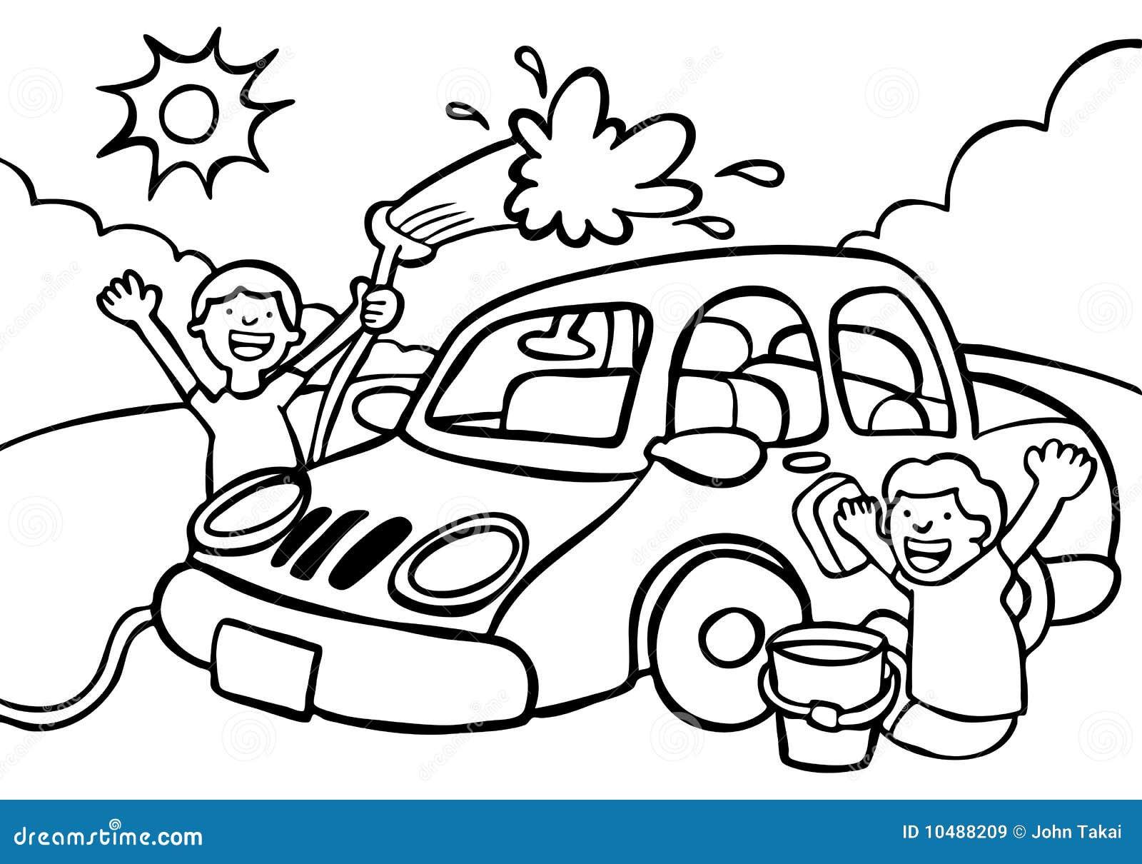 lavage de voiture images libres de droits image 10488209. Black Bedroom Furniture Sets. Home Design Ideas