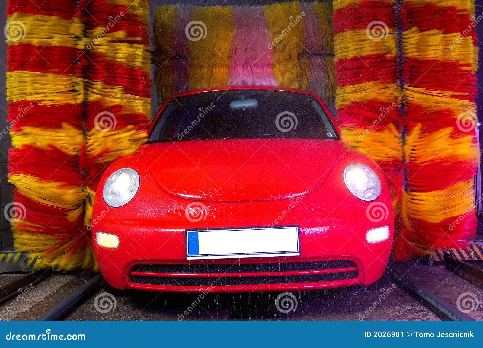 lavage de voiture image stock image 2026901. Black Bedroom Furniture Sets. Home Design Ideas
