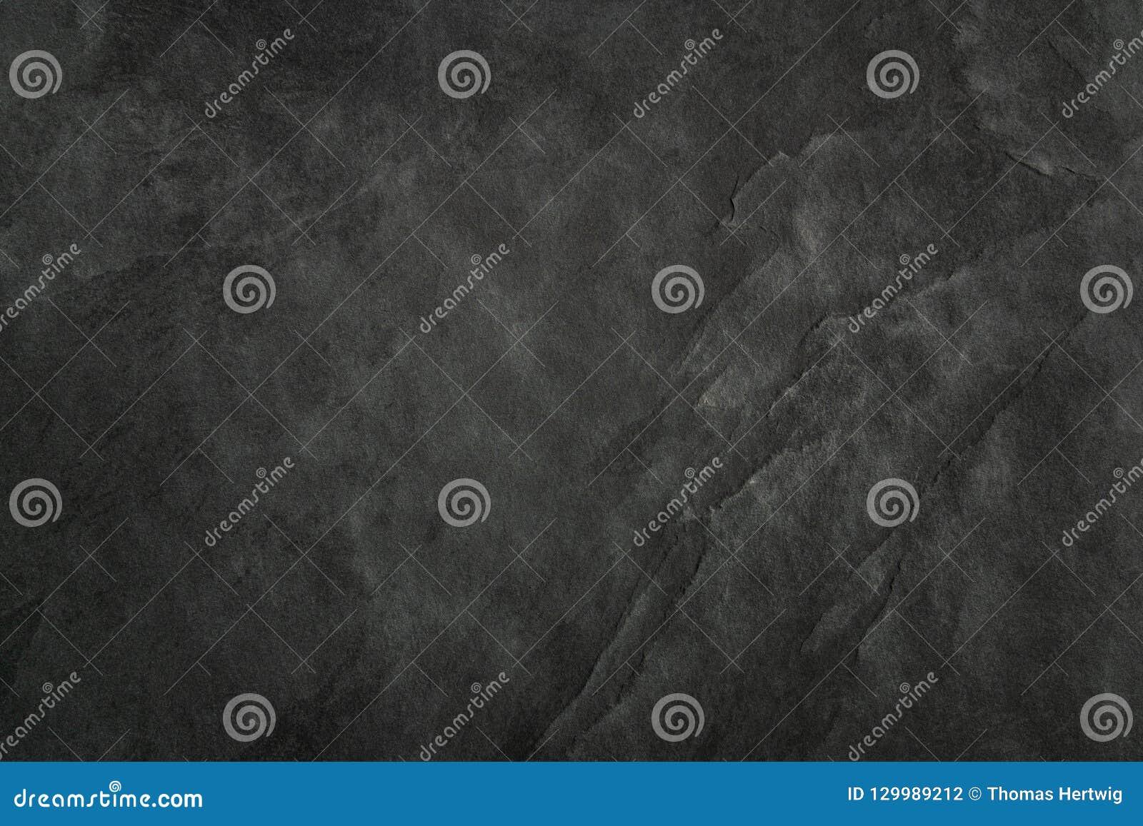 La Pietra Della Lavagna lavagna nera del fondo di struttura dell'ardesia - pietra