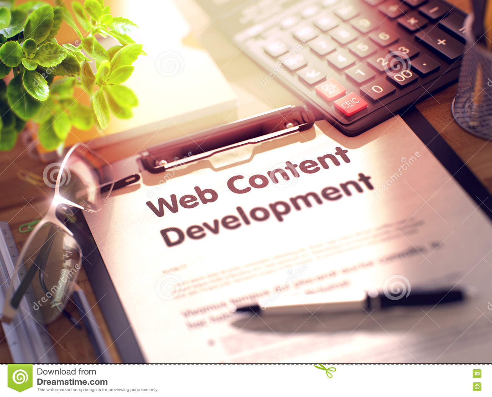Lavagna per appunti con sviluppo del contenuto Web 3d