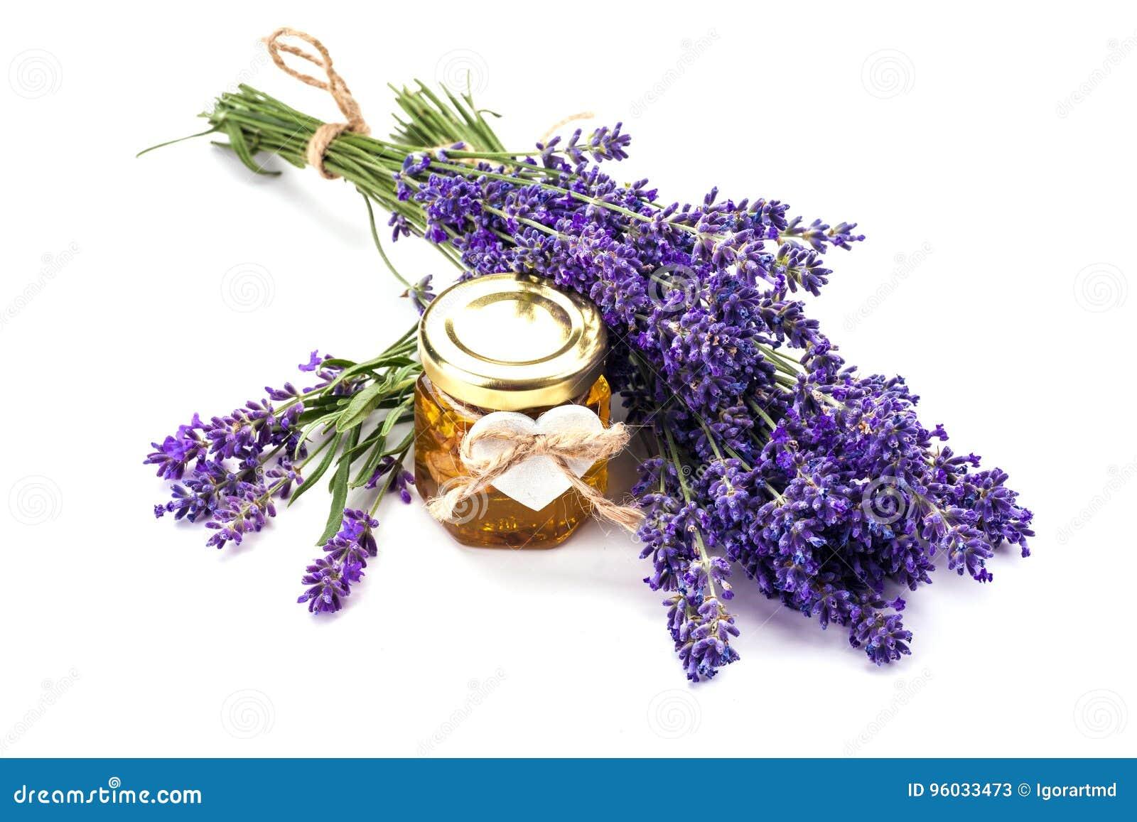 Lavander z aromatycznym olejem