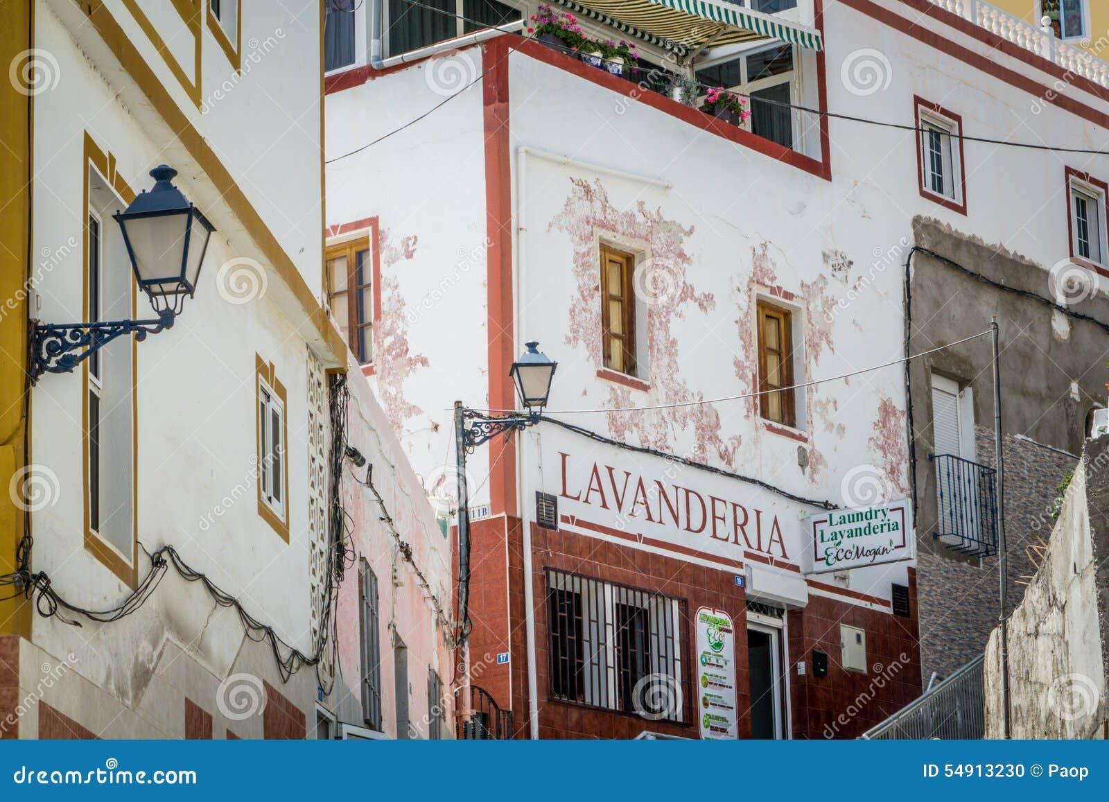 Lavanderia - laundry shop