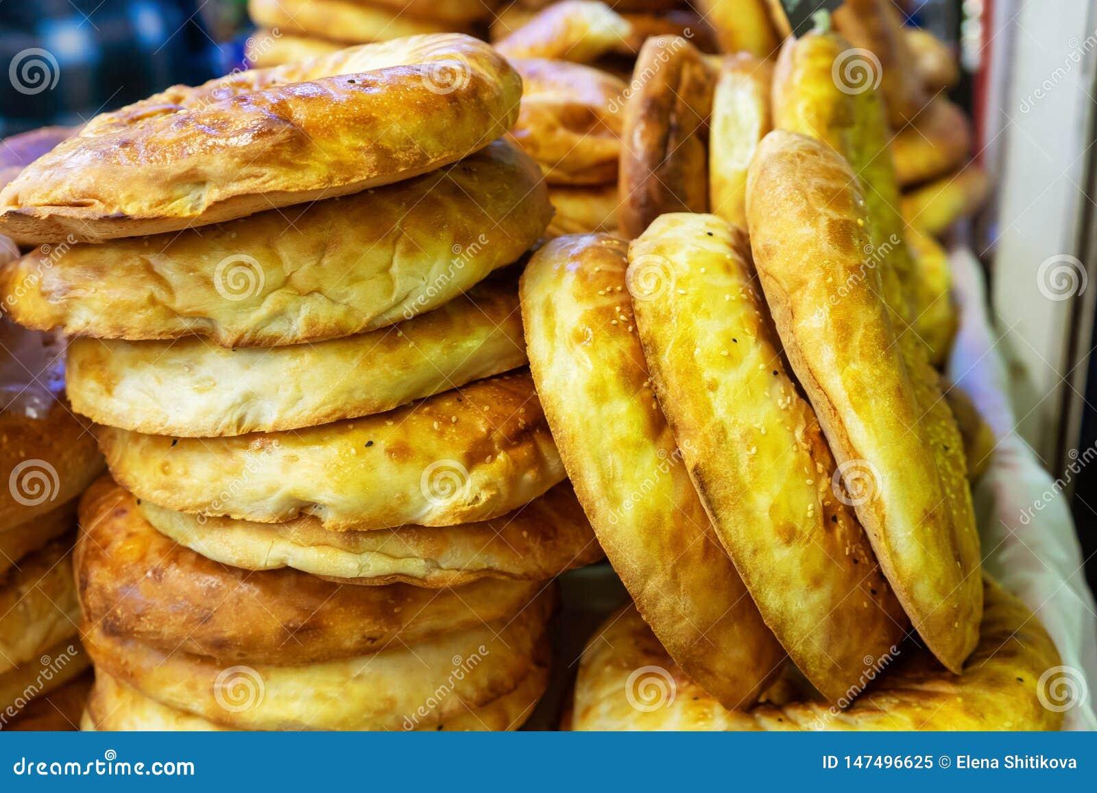 Lavash armeno Pane bianco rotondo