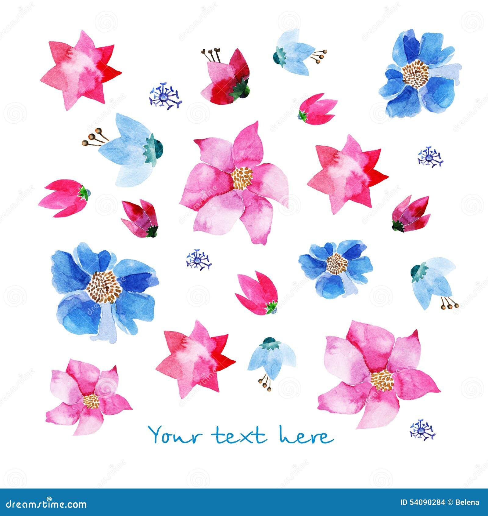 Lavendel en blauwe ornamenten